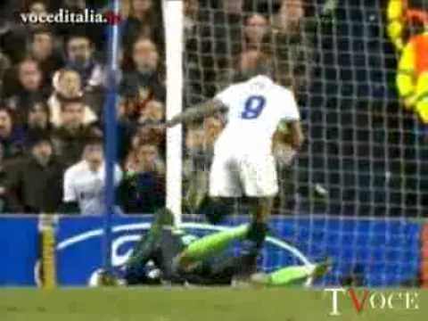 Chelsea-Inter- 0-1: goal di Eto'o 16/03/2010