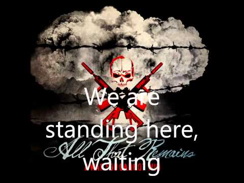 A War You Cannot Win - All That Remains (lyrics) [1080p]