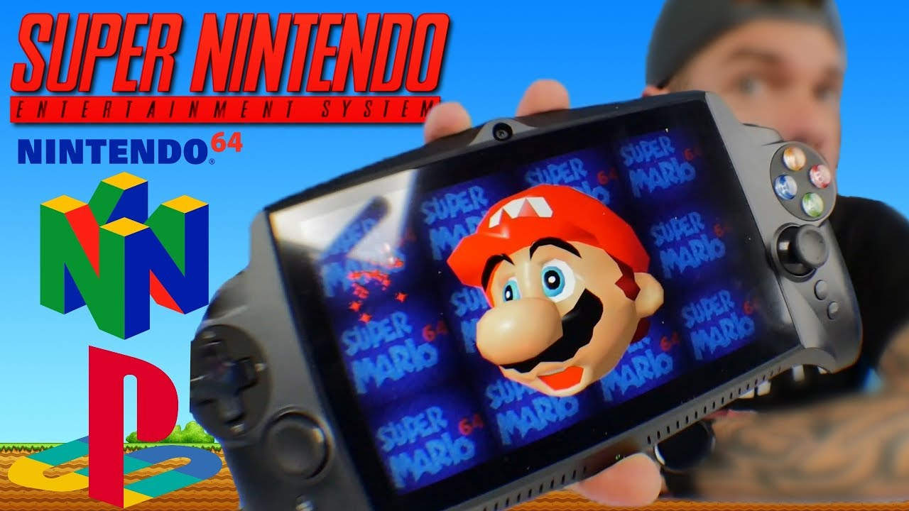 Best Handheld Emulator 2020 Best Handheld Gaming Console   JXD Singularity S192K Review   YouTube