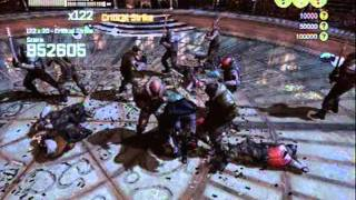 Batman Arkham City - Iceberg Lounge Challenge Map Gameplay - 2,460,450