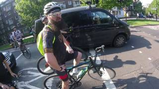 cyclist vs cyclist road rage if youre scared you shouldnt be on the fking road