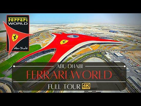 Ferrari World Abu Dhabi All Rides Tour Theme Park