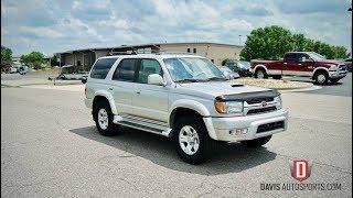 Davis AutoSports 2001 Toyota 4Runner Sport 4x4 For Sale / Test Drive