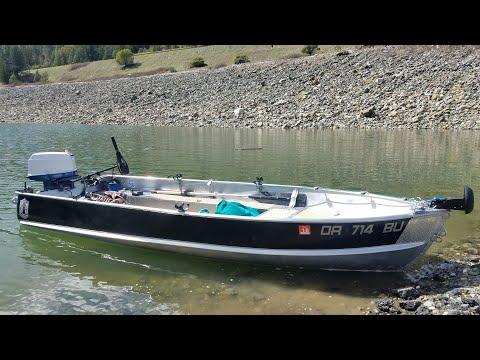 Alumacraft F7 14 ft , custom aluminum boat DIY