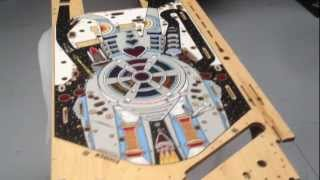 Hot Rodded Pins - Playfield Restoration overview - Bride of Pinbot