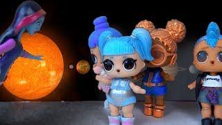 Куклы Лол Мультик! Космические питомцы ЛПС для Пупсов Лол! Мультик с куклами LOL SURPRISE! LPS