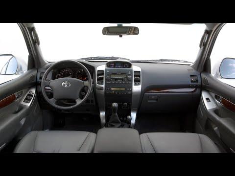 Установка 2-DIN на Toyota Land Cruiser 120 Prado + камера заднего вида
