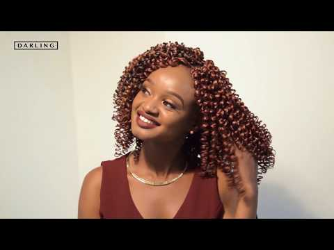 Box Braid Crochet Hairstyle Technique Youtube