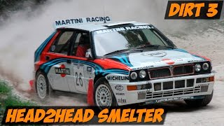 DIRT 3 - Head2Head Smelter (Lancia Delta HF Integrale) Rockstar Racing