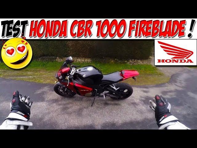 #MotoVlog 35 : TEST HONDA CBR 1000 FIREBLADE / SATELLISATION !