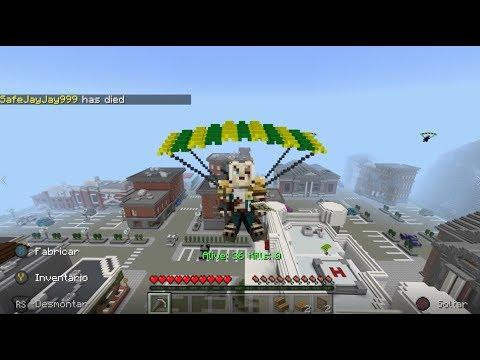 Pisos Picados En Minecraft Battle Royale El Fortnite Free Fire
