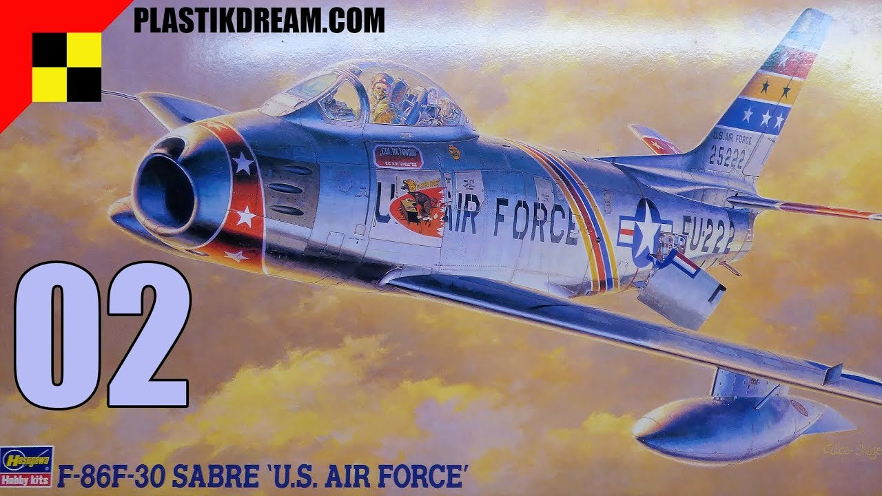 Peinture Métal F 86 Sabre Part 02 Final Youtube