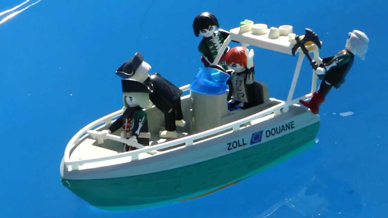 playmobil boat bateau moteur de bateau pirate fantome. Black Bedroom Furniture Sets. Home Design Ideas
