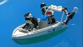 playmobil boat bateau  moteur de bateau pirate fantome