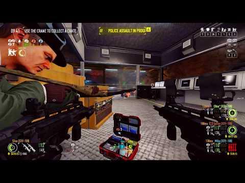 Payday 2 - ECM Loud Build (Gameplay 1)