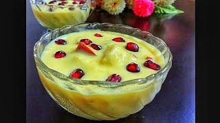 Fruit Custard Recipe in HINDI   In Easy Step   Custard Recipe   Summer special
