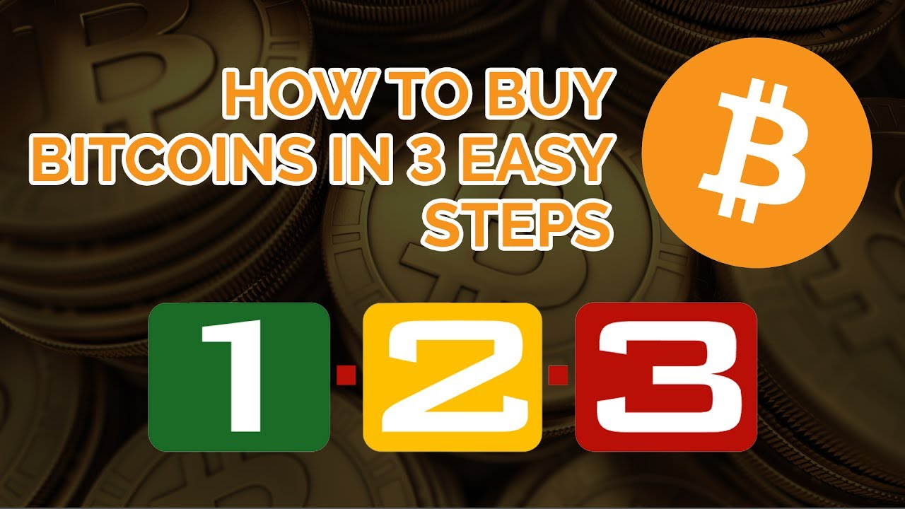 How To Buy Bitcoins in 3 Easy Steps