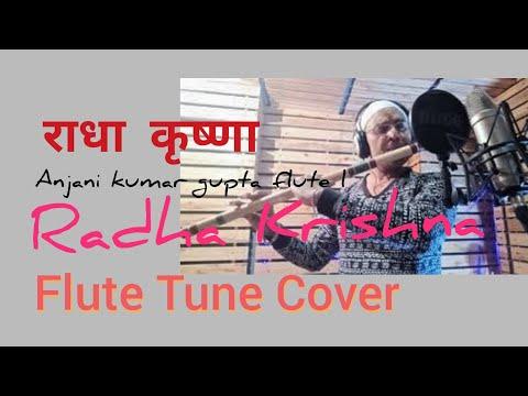 राधे कृष्णा बाँसुरी धुन | Radhe Krishna T V Serial | Instrumental Theme Flute Cover | Sad Version