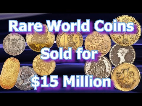 Brilliantly Rare World Coins Sell For Millions In New York