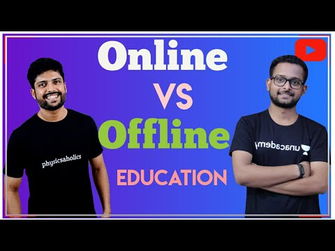 Online education V/s offline education