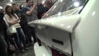 БАС ЛОМАЕТ СПОЙЛЕР - BASS DESTROYING A CAR!!!