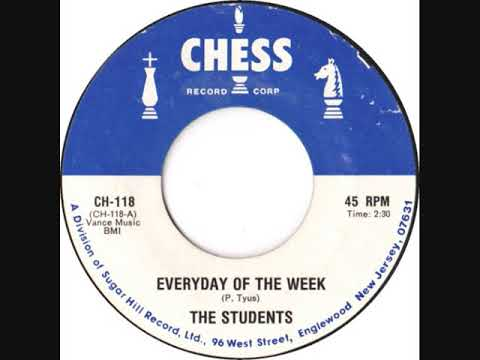 EVERYDAY OF THE WEEK-THE STUDENTS