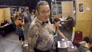 International Tattoo Convention Amneville 2016 (opening overview)