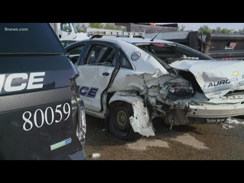 Police officer urges people to drive sober after drunk driver crashes into  patrol car