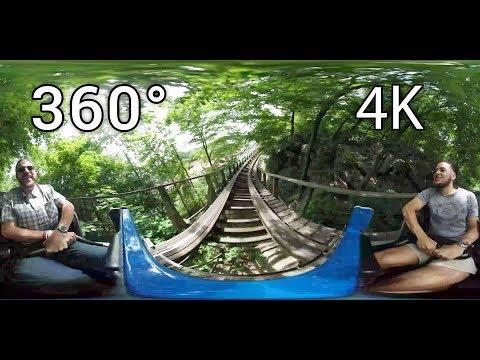 Boulder Dash 360° on-ride 4K POV Lake Compounce