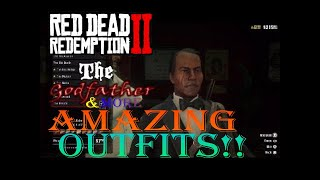 Red Dead Redemption 2 Amazing Outfit #7 (The Ambarino Warrior,The Godfather, & More!!!)