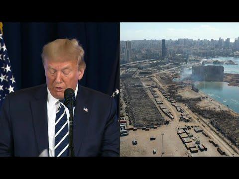 AFP Español: Trump se unirá a Macron en videoconferencia para coordinar ayuda a Líbano   AFP
