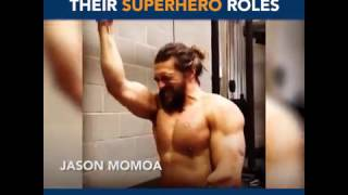 Actors Working Out for Superhero Roles