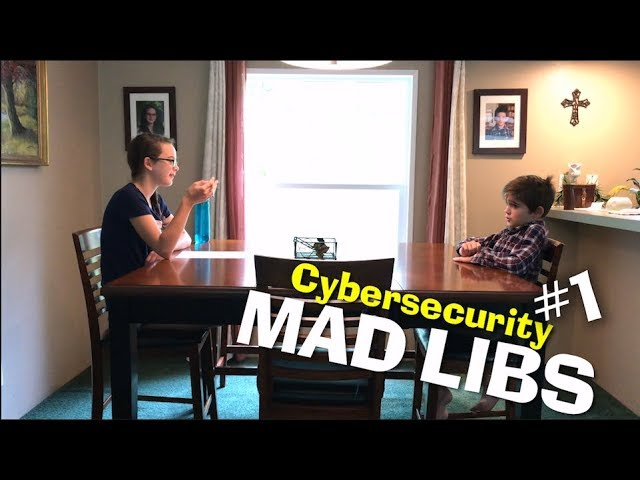 Cybersecurity Mad Libs #1