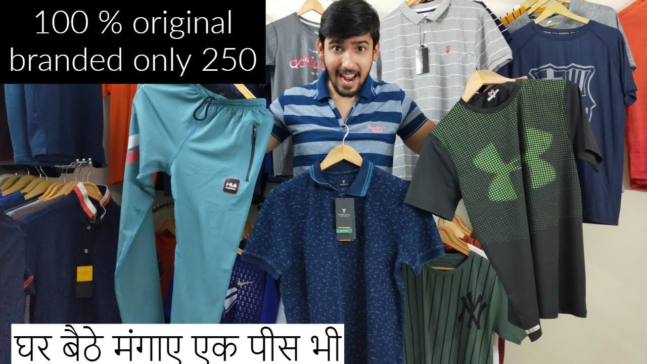 only 250 export surplus branded T-shit lower branded | cheapest branded  clothes