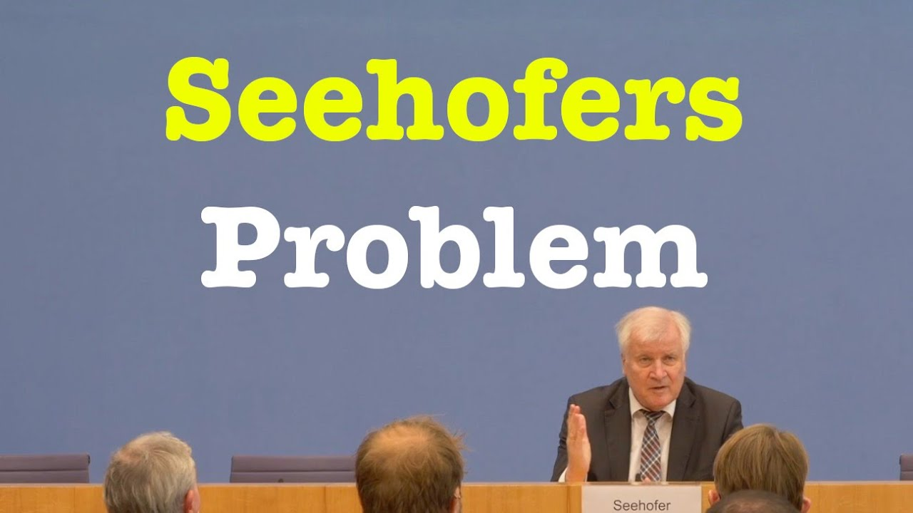 Aktuelle Migrationslage mit Innenminister Horst Seehofer (CSU) | BPK 20. Oktober 2021