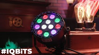 How To Use *relatively* Inexpensive DJ LED Lights to Light a Set