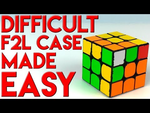 2 Tricks To Make A Hard F2L Case REALLY EASY - 동영상