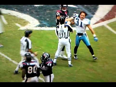 """Andre Johnson beats the """"F"""" out of Cortland Finnegan fist fight"""