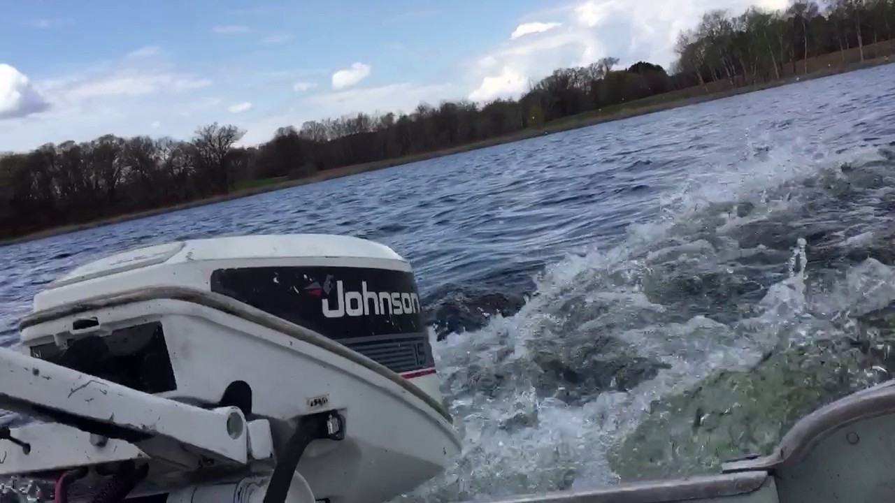1986 Johnson 15hp Outboard Motor
