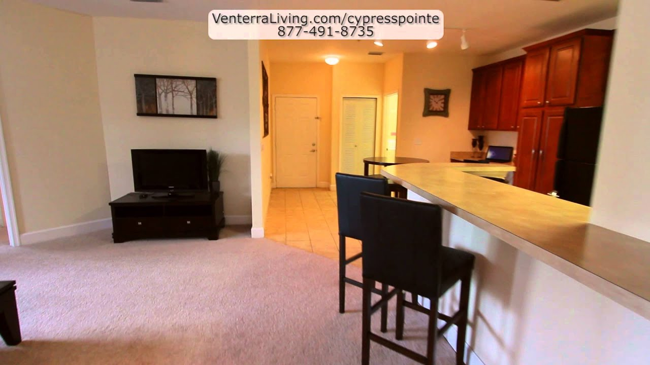 Cypress Pointe Apartments In Orange Park Florida 2 Bedroom Tour Youtube