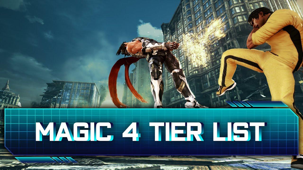 Tekken 7 Magic 4 Tier List Ranking Youtube