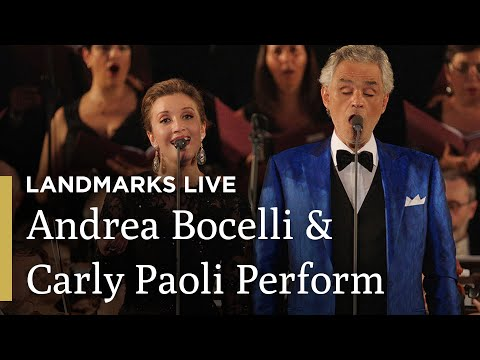 Time to Say Goodbye: Andrea Bocelli and Carly Paoli   Landmarks Live in Concert - Andrea Bocelli