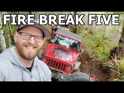 My FIRST Jeep Jamboree - Tillamook Oregon - Firebreak Five *OFF ROAD EXTREME 4x4*