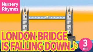 London Bridge Is Falling Down【Nursery Rhyme, Kids Song for Childre...