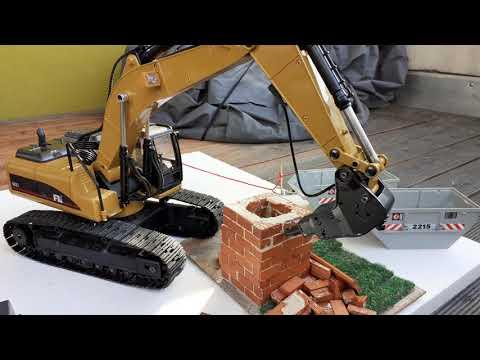 Abbruchbaustelle Gartenschuppen Tag2| Die Abbrucharbeiten können starten!| LionBau