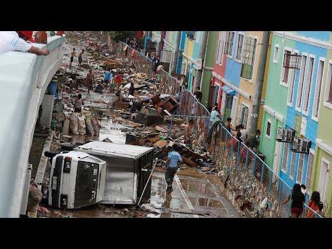 23 mil evacuados nas Filipinas por causa de inundações