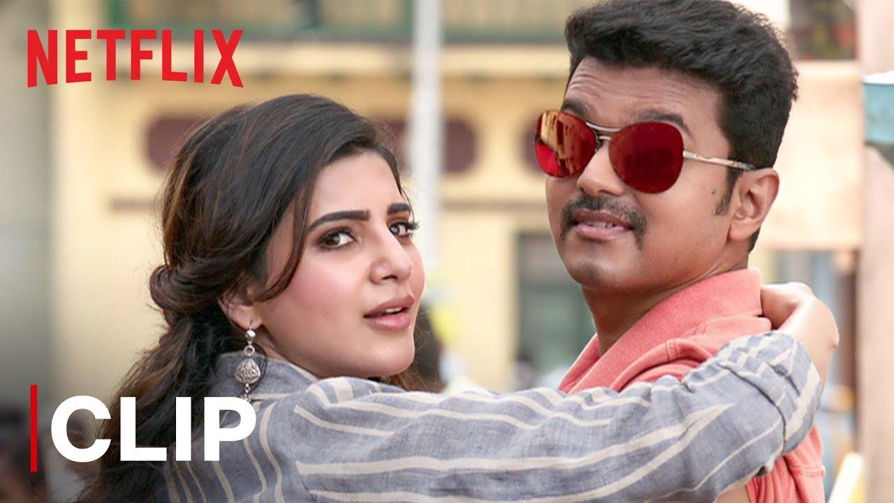 Download Thalapathy Vijay & Samantha Akkineni Rose Milk Scene | Yogi Babu | Mersal | Netflix India