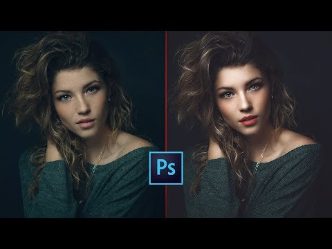 High-End Skin Softening In 1 Minute Or Less In Photoshop | FREE PLUGIN | Photo Effect