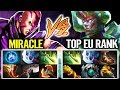 MIRACLE EPIC CARRY GAMEPLAY This why Miracle- Always TOP 1 MMR Dota 2 7.20 Late Game