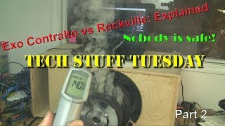 The truth about Rockville K9 subwoofers, part 2 - Tech Stuff Tuesday